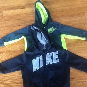 Infant Nike Therma Fit hoodies